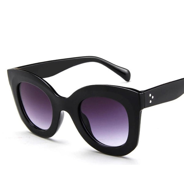 Leopard Cat Eye Designer Luxury Women Sun Glasses - UNVACANAL
