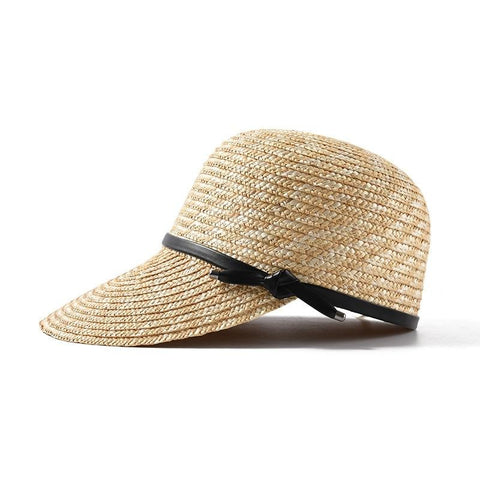 New Brand Show Natural Straw Baseball Caps For Women - UNVACANAL