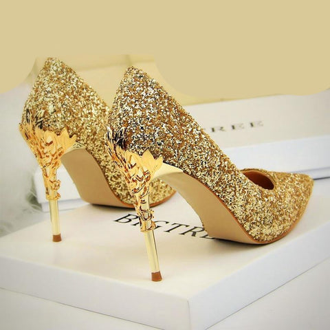Sexy Bling Bridal Wedding Women Shoes