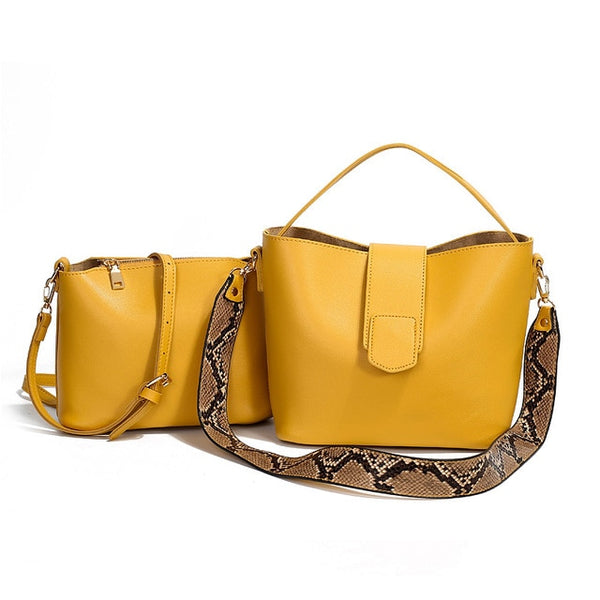 New Designer Leather Casual Handbags - UNVACANAL