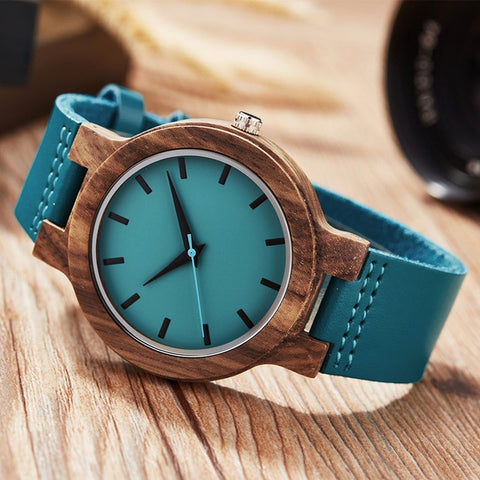 Creative unique design Wood Watches - UNVACANAL
