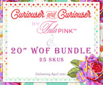 "Tula Pink Curiouser and Curiouser - 20"" WOF Bundle"