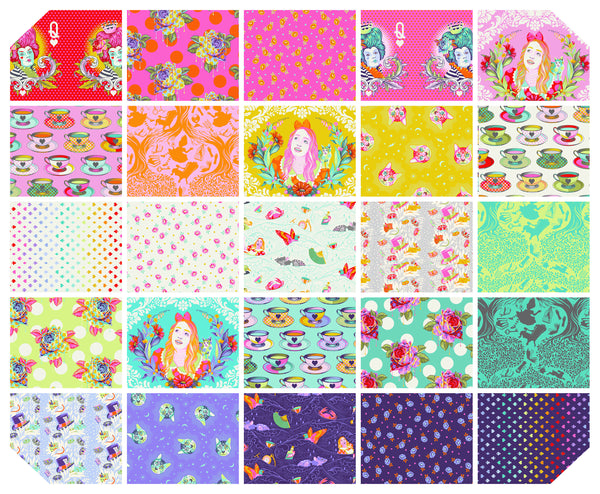 Curiouser and Curiouser by Tula Pink - 25sku FQ Bundle