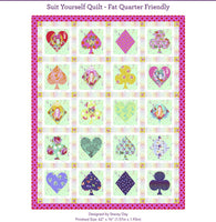 Suit Yourself Quilt Kit - Curiouser and Curiouser