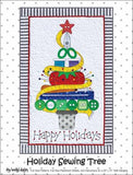 Holiday Sewing Tree - paper pattern