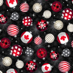 Canadian Christmas 2 - Ornaments dark 52762D-2- PREORDER Sept 2021