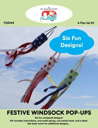 Festive Windsock Pop Up