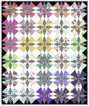 "The Hatter Quilt Kit - Curiouser&Curiouser - PreOrder May 2021 -86""x86"""