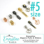 Heart Zipper Pulls - #5