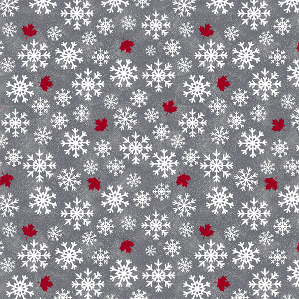Canadian Christmas 2 - Snowflake GREY 52761D-1- PREORDER Sept 2021