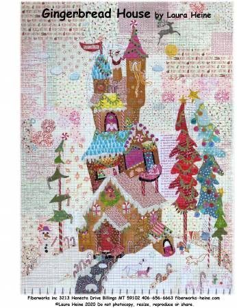 Gingerbread House Pattern - pattern