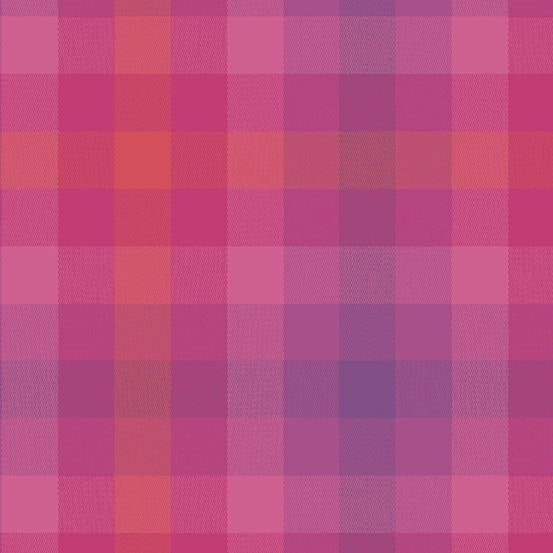 Plaid - Magenta WV-9541