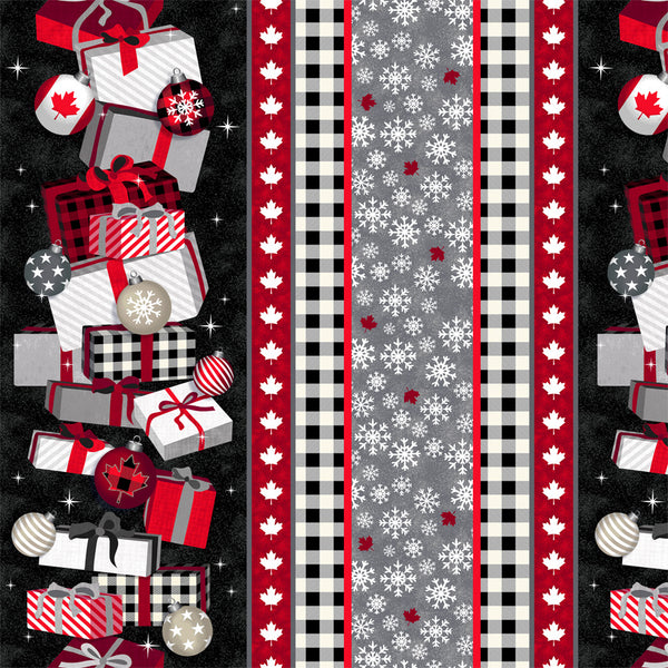 Canadian Christmas 2 - Border print  52760D-2- PREORDER Sept 2021