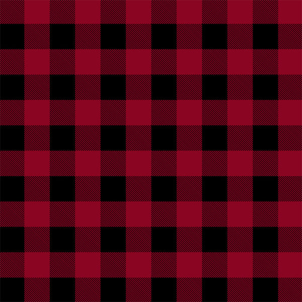 Canadian Christmas 2 - Buffalo Plaid RED - 51869AD-1 PREORDER Sept 2021