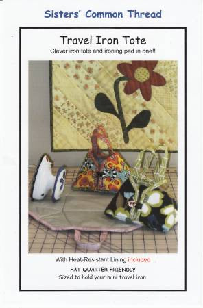 Travel Iron Tote - pattern with lining