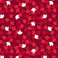 Canadian Christmas 2 - Maple leaf RED - 52763D-4 - PREORDER Sept 2021