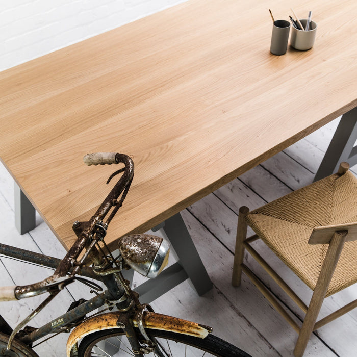 Prime Oak Studio Table. - Farmhouse Table Company