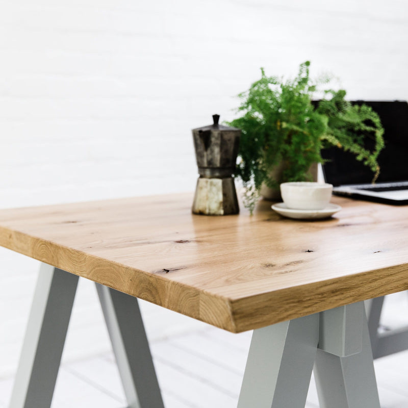 Rustic Oak Studio Desk - Farmhouse Table Company