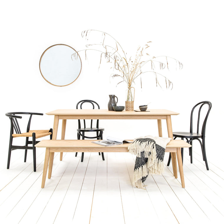 Tristford Oak Dining Table 160 x 90cm - Farmhouse Table Company