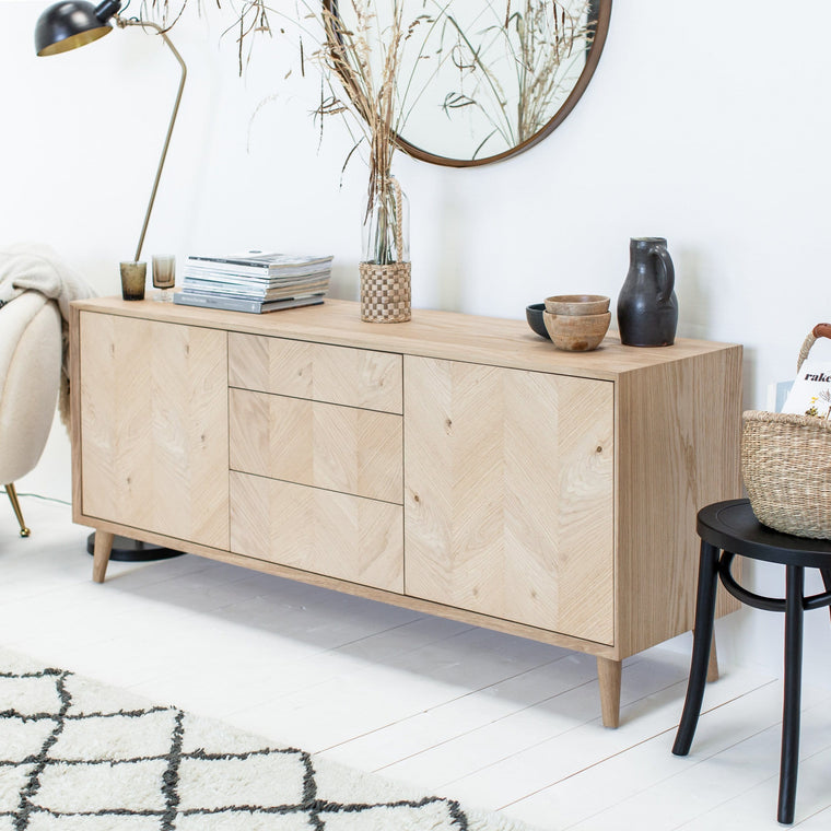 Tristford Oak Sideboard - Farmhouse Table Company