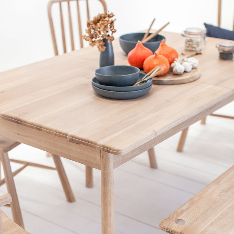 Staverton Extendable Oak Dining Table - Farmhouse Table Company