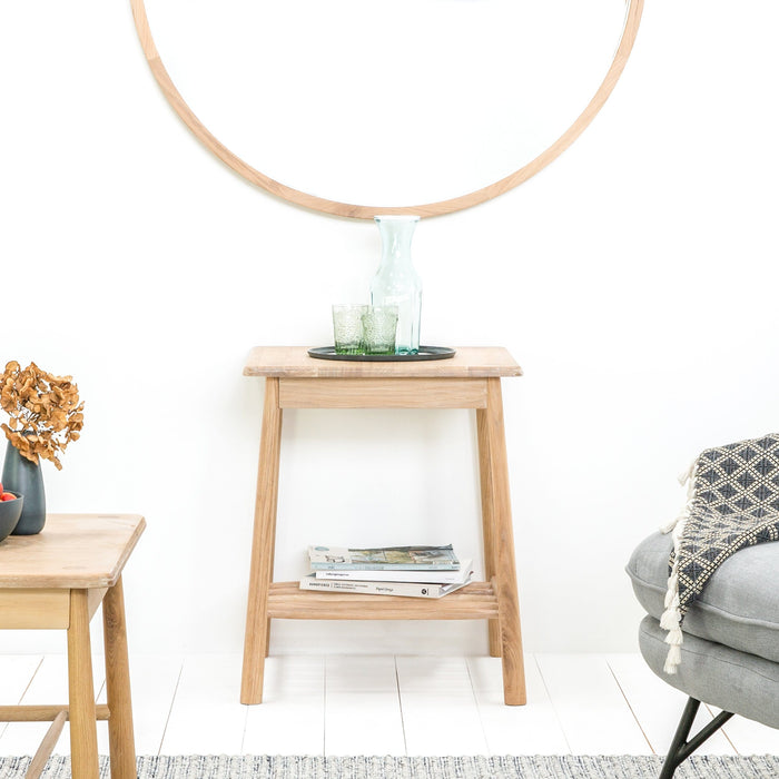 Staverton Oak Side Table - Farmhouse Table Company