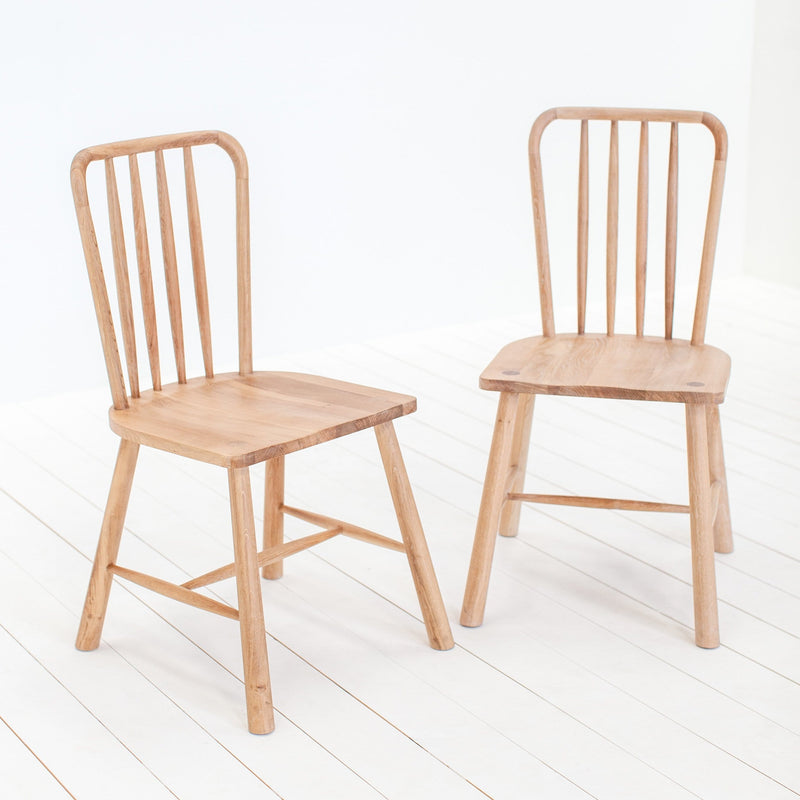 A Pair of Staverton Dining Chairs - Farmhouse Table Company