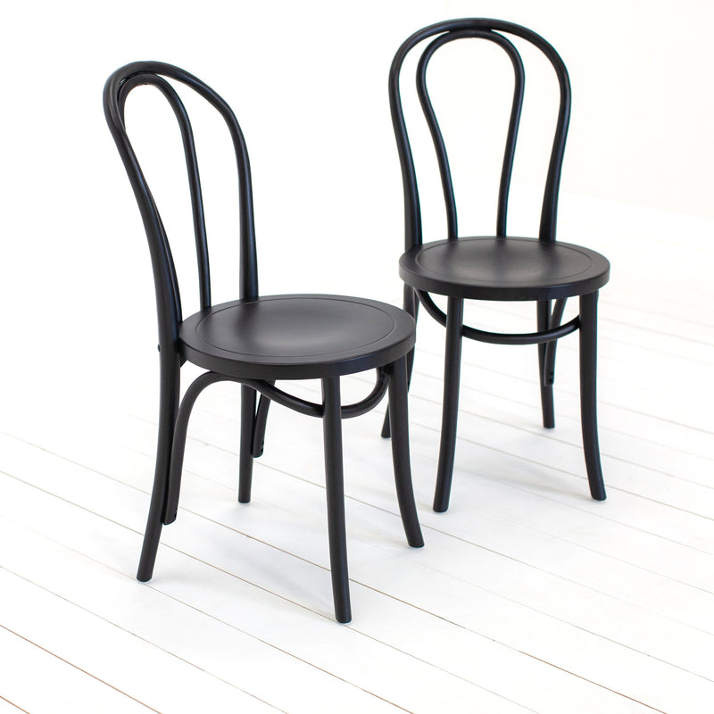 A Pair of Bigbury Bistro Chairs - Farmhouse Table Company