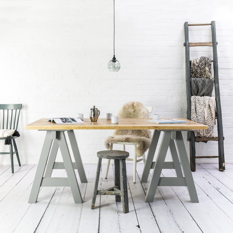 Reclaimed Wood Studio Table
