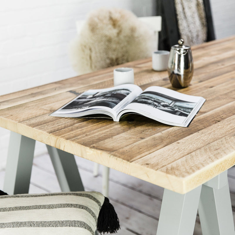 Reclaimed Wood Studio Table. - Farmhouse Table Company