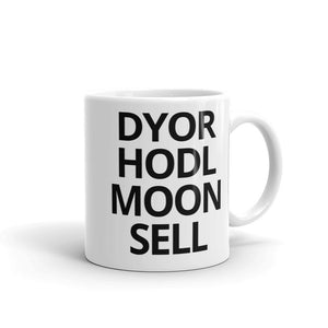 Stages of Crypto Investing Mug