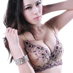 Hot fashion sexy bra gather soft comfortable sexy lace embroidery women's underwear bra