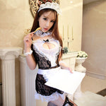 Sex Product Maid Sexy Costumes Women Teddy Lingerie Sexy Hot Erotic Lace See Through Maid Uniform Sexy Underwear Erotic Lingerie