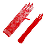 IKOKY Sex Lace Glove Long Elastic Sexy Arm Sleeve for Party Adult Games Fetish Sex Toys for Women Girl SM Bondage Erotic Toys