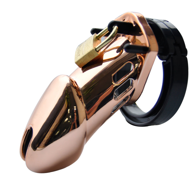 Prison Bird Male Designer Gold Edition Chastity Deveices Small/Standard Cage Penis Ring lavish and luxurious Adult Sexy Toy A283