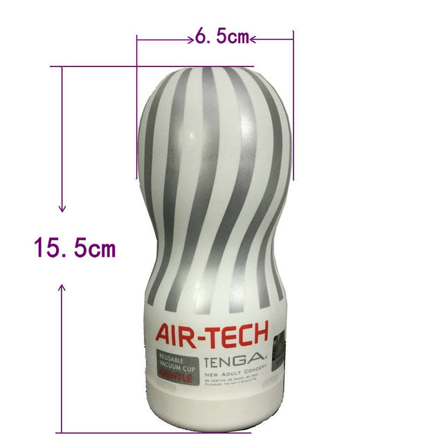 Japan Original Tenga Air-tech Reusable Vacuum Sex Cup,Soft Silicone Vagina Real Pussy Sexy Pocket Male Masturbator Cup Sex toys