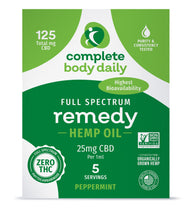 Load image into Gallery viewer, CBD Remedy | 750mg tincture - Complete Body Daily