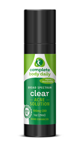 CBD Clear | acne cream - Complete Body Daily