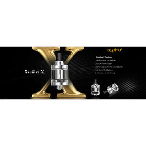Aspire Nautilus X replacement coil pack 5 pack - VAPE STATION