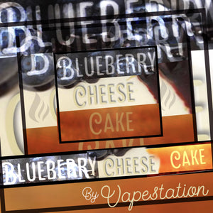 Blueberry Cheesecake Premium 60ml Eliquid - VAPE STATION - VAPE STATION