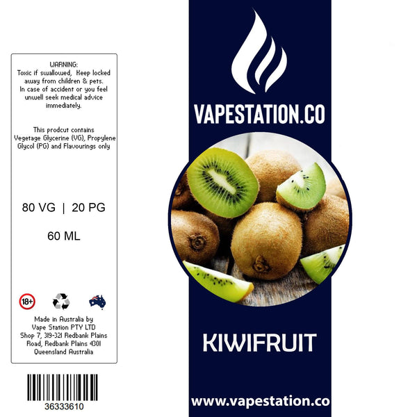 Kiwifruit eLiquid 60ml eLiquid Vape Station