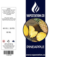 Pineapple eLiquid 60ml eLiquid Vape Station