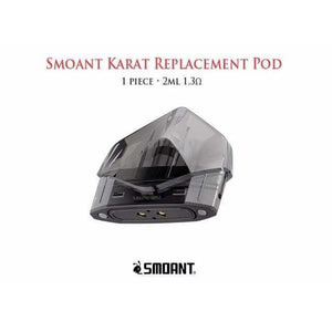 Smoant Karat Replacement Pod • 1 piece 2ml 1.3Ω - VAPE STATION - VAPE STATION