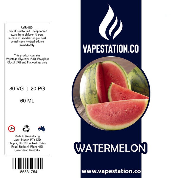 Watermelon eLiquid 60ml eLiquid Vape Station