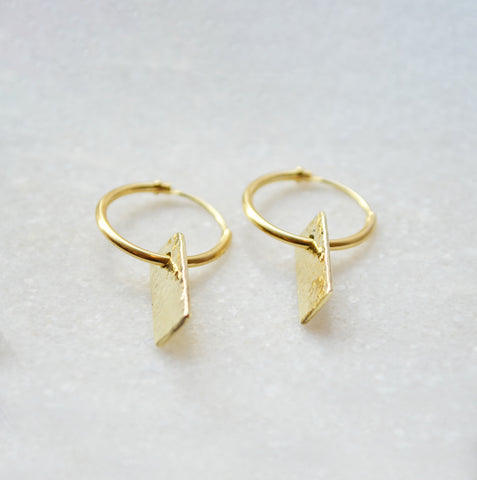 Goldsmith earrings 14K gold