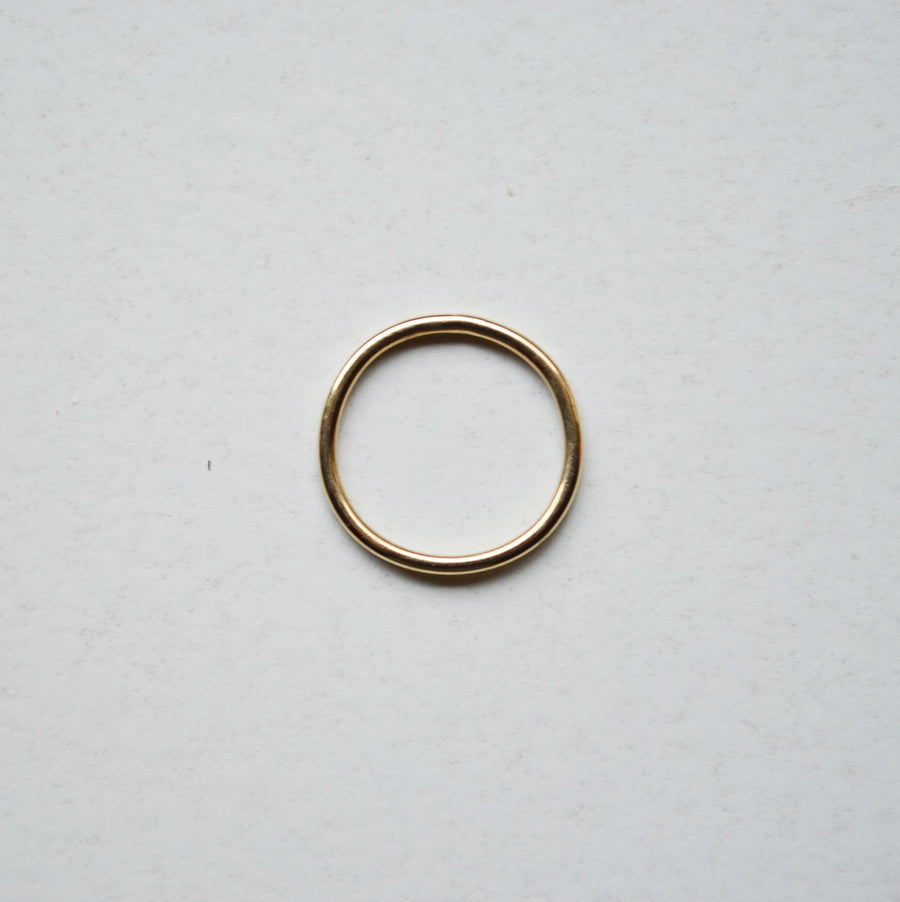 Plain Ring Thin - Gold 14k