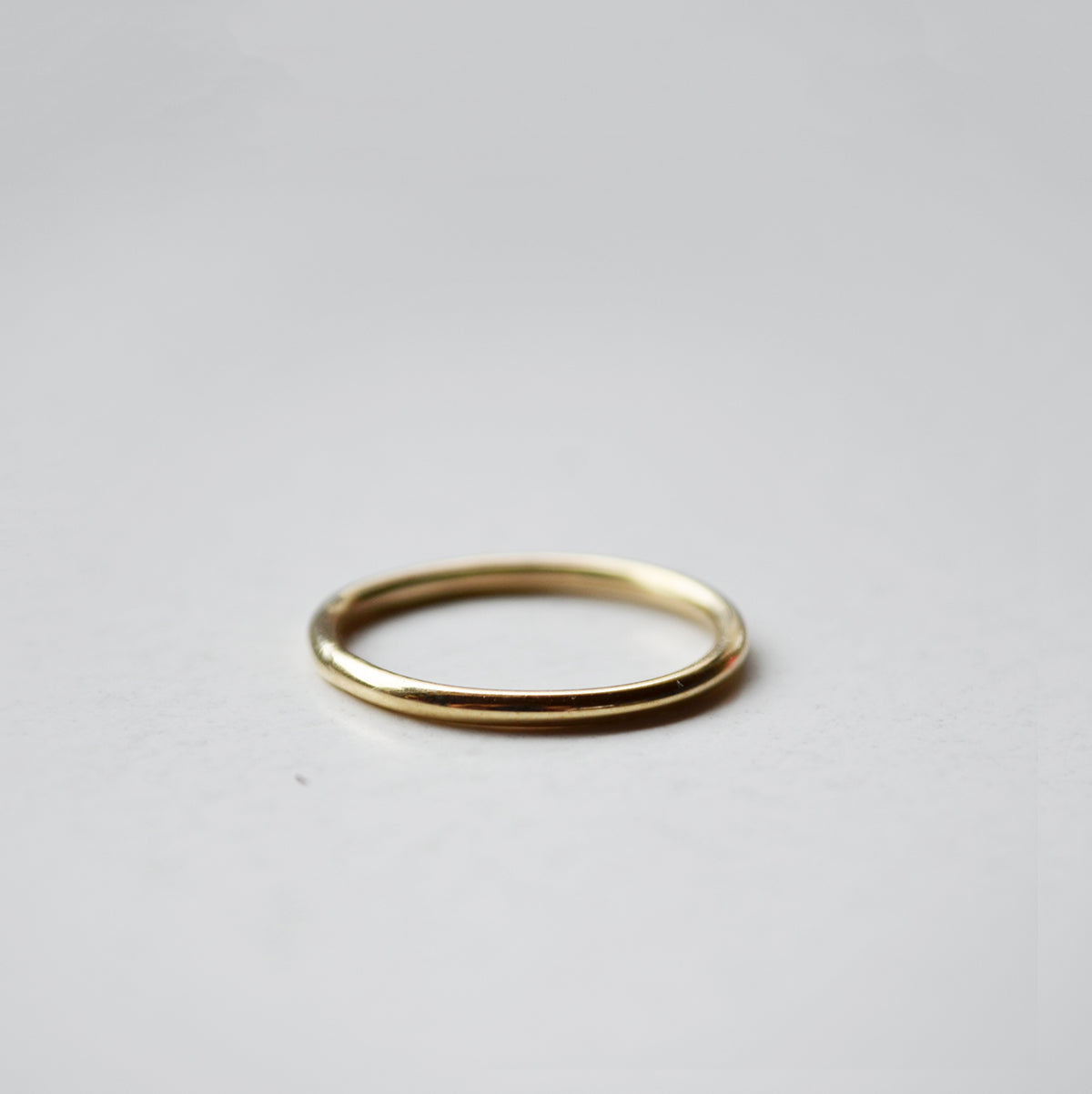 Plain ring - 14K GOLD