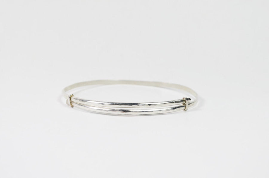 Solid armband unisex - Zilver