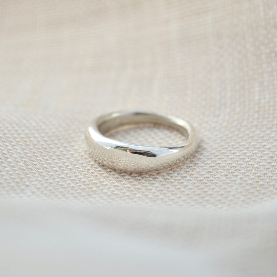 Chunky June Ring - Silver