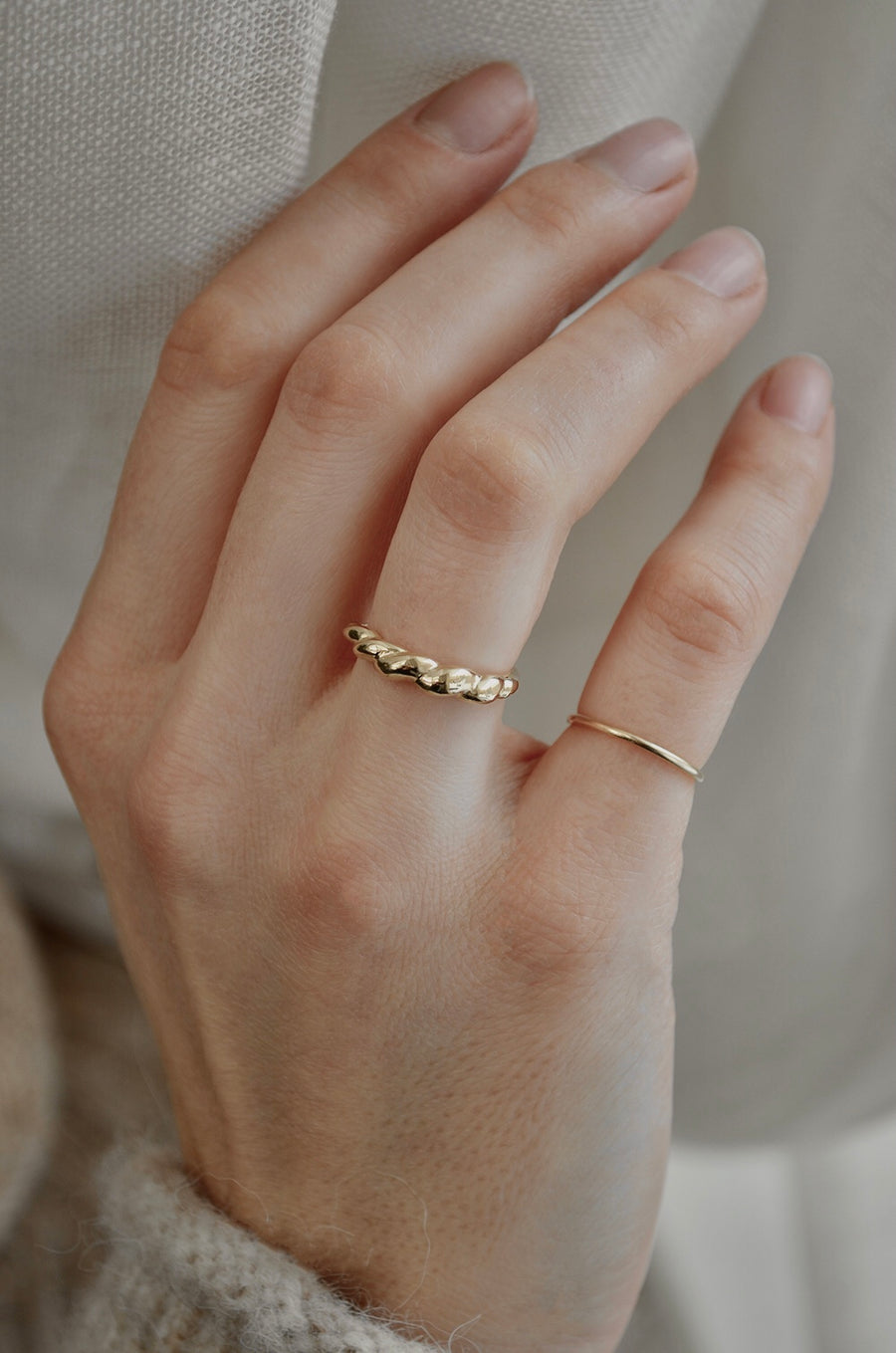 Flore Ring - Gold 14k